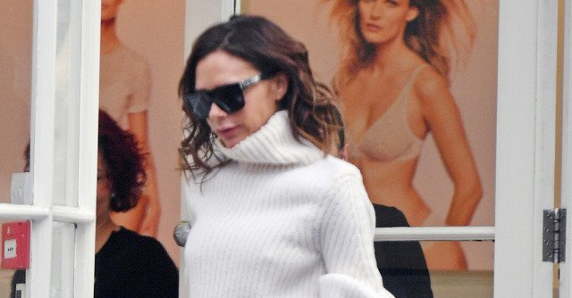 Big Sleeves and Wide-Leg Pants? Victoria Beckham Says Yes