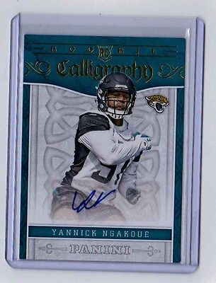 2016 PANINI #Rookie CALLIGRAPHY AUTOGRAPH YANNICK NGAKOUE - JACKSONVILLE #Jaguars   http:// dlvr.it/N7rbv4  &nbsp;   #Football<br>http://pic.twitter.com/1NqpOOzG61