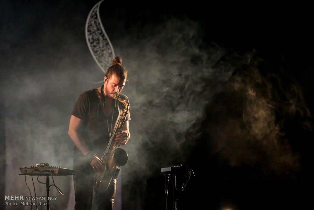 Merci @GIOM_PERRET et à son équipe (Nadir et Manu) pour ce magnifique moment musical à #Téhéran #jazz #Fajrmusicfestival32 #Iran #France<br>http://pic.twitter.com/cnp48BdC50