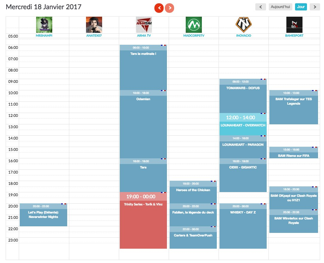 #Planning de ce mercredi   http://www. programme-streaming.tv/site/web-tv-ch annels-guide &nbsp; …  #WebTV #Twitch<br>http://pic.twitter.com/GoH3Wwf8Vu