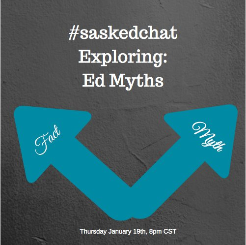 Thumbnail for #saskedchat - January 19th, 2017