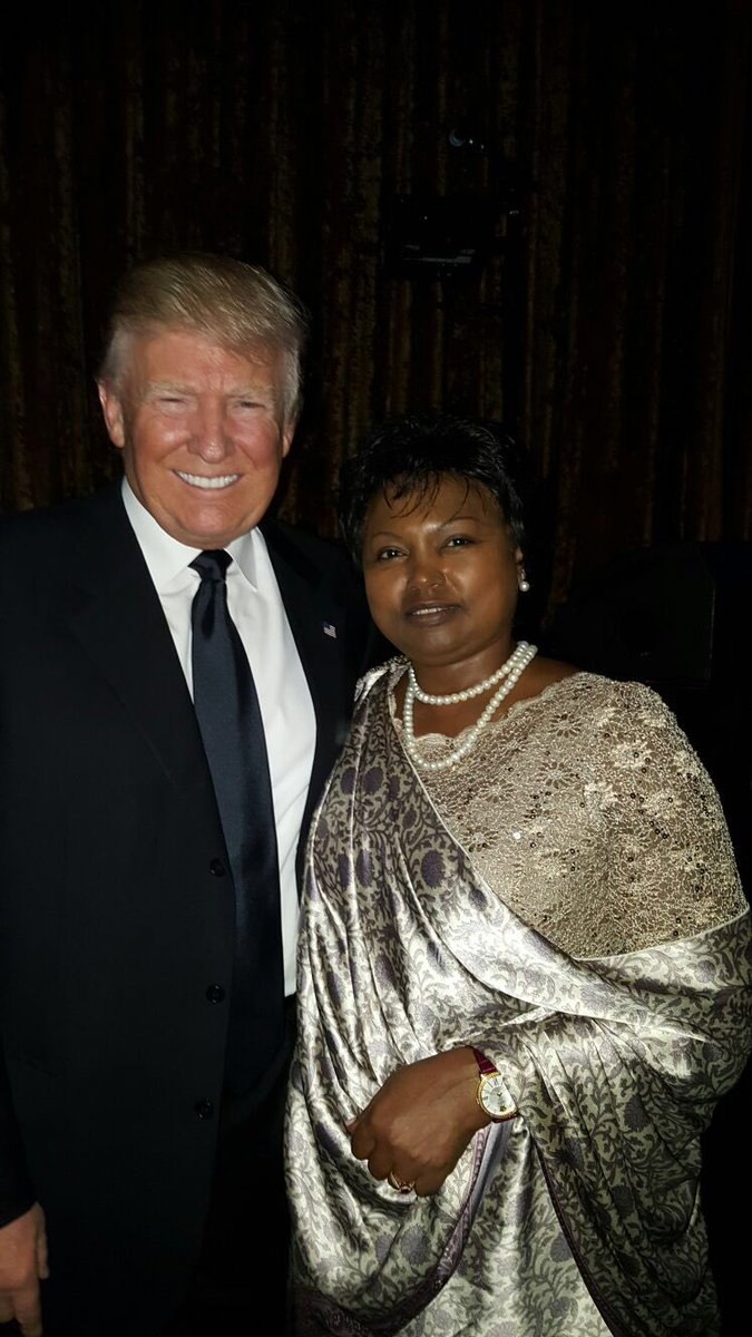 58th Presidential pre-inauguration event hosted for chiefs of diplomatic mission and dignitaries #TrumpInaugural <br>http://pic.twitter.com/70719LuQhp