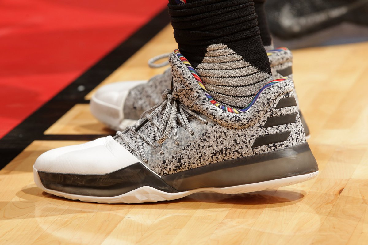 156c071c250d james harden in the adidas harden vol 1 honoring arthur ashe for black  history month