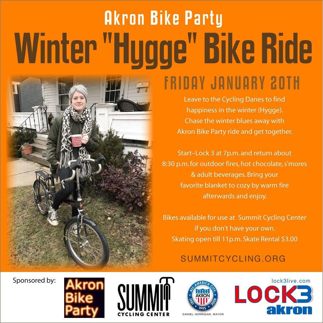 Akron Bike Party followed