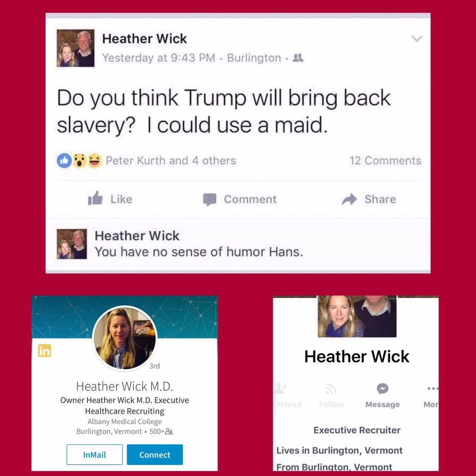 #heatherwick #blacktwitter Our generation won&#39;t play that! Hopefully she loses her job! #racismisreal #trumpsupporters #disgusting<br>http://pic.twitter.com/tDybsWpEin