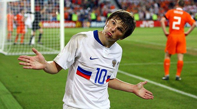 СМИ: Аршавин попал в список лучших футболистов, не игравших на ЧМ