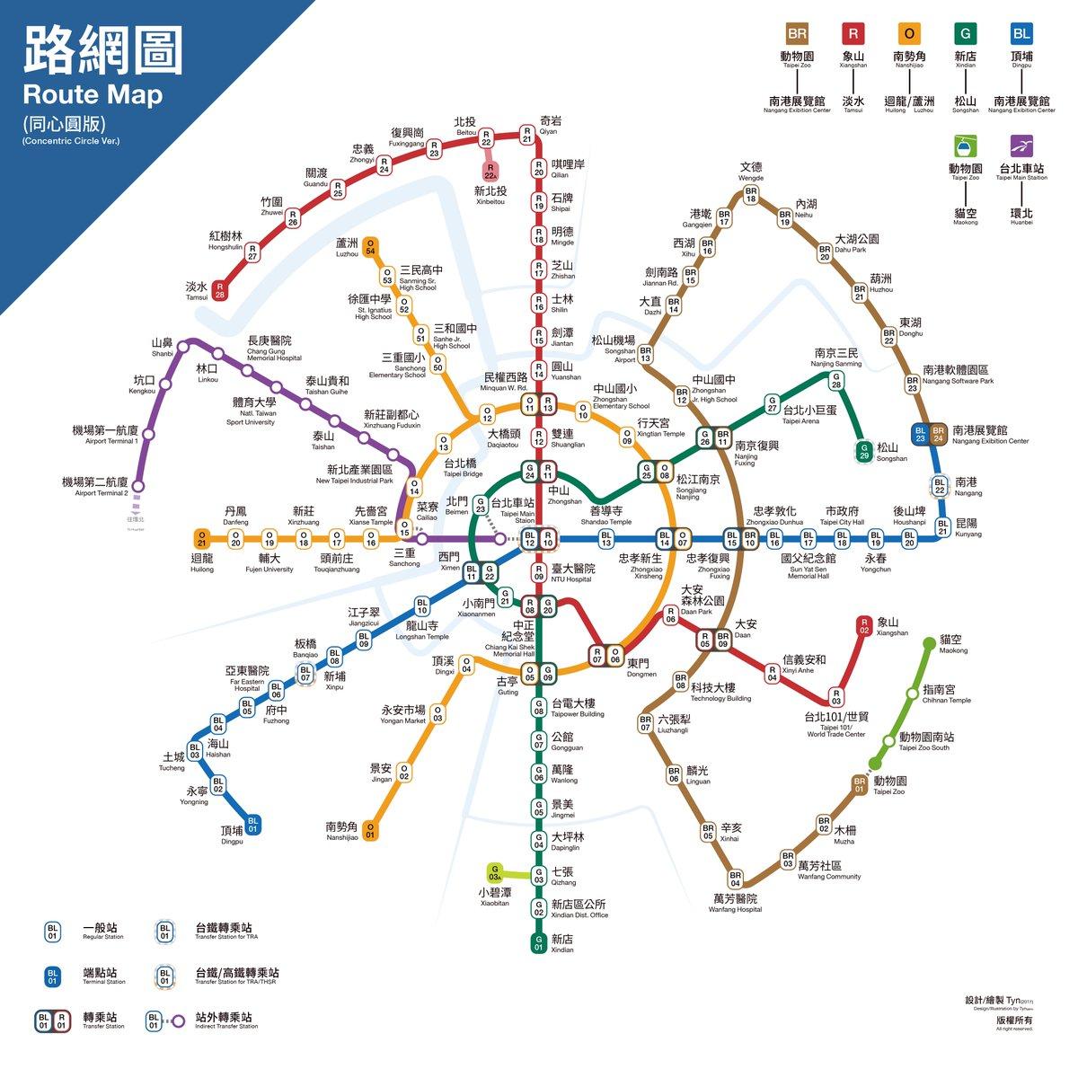 Re: [分享] 台北捷運同心圓(放射狀)路網圖 https://t.co/ZdDEbI0Hzb https://t.co/RAH0Bq2vbg