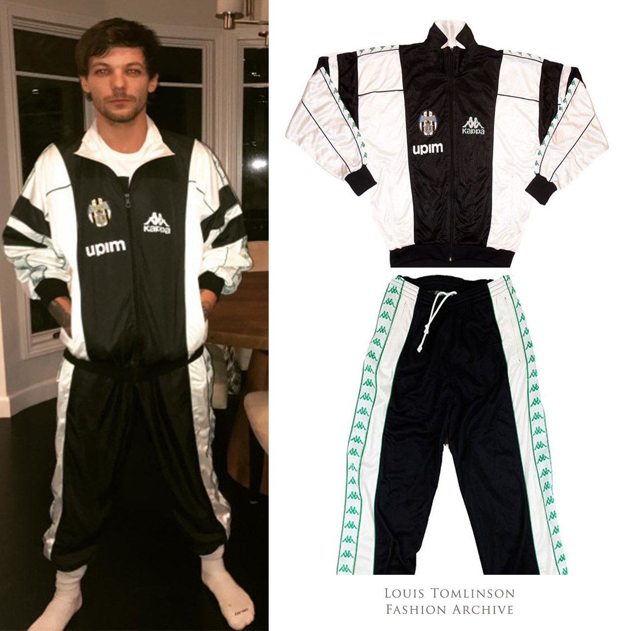 Louis T Fashion On Twitter Louis Wore A Vintage Kappa Juventus Tracksuit Seasons 1990 1992 On