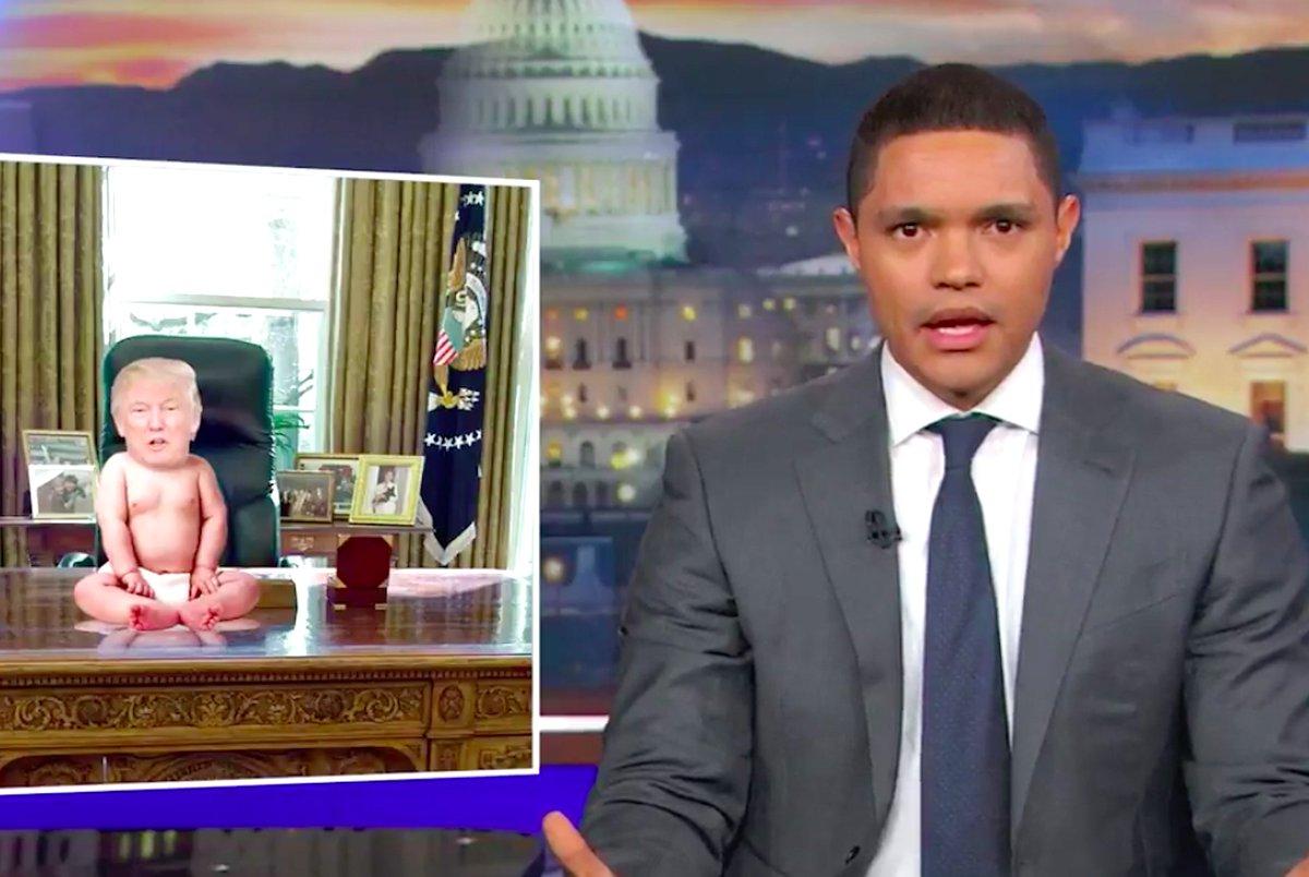 #DailyShow's @Trevornoah: Obama
