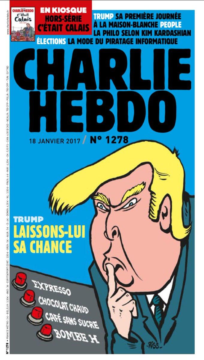 #CharlieHebdo est sorti #Trump #MLP <br>http://pic.twitter.com/yd1pNu4Uhe