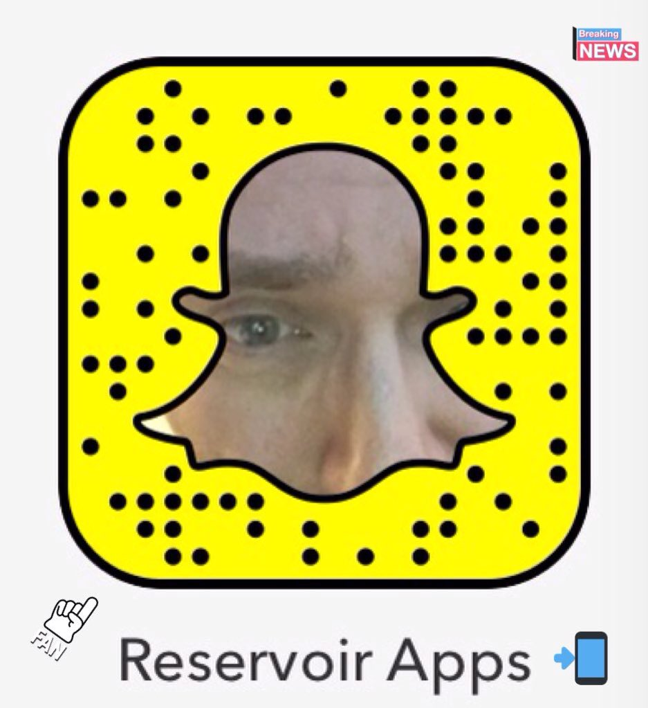 Retrouvez moi sur Snapchat   http:// snapchat.com/add/reservoira pps &nbsp; …  •Photos: #Actu #Tech Innovation &amp; Technologie #Rdv 7/7 #ReservoirApps  @ReservoirApps<br>http://pic.twitter.com/DytOAdHuo0