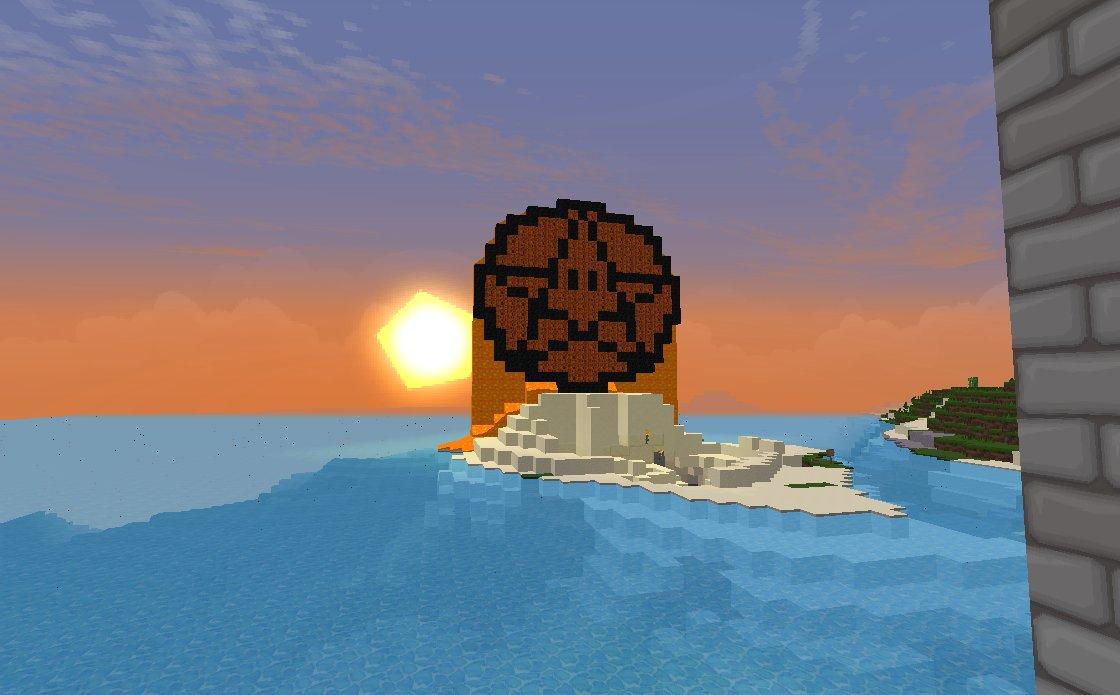 Minecraft server status widget