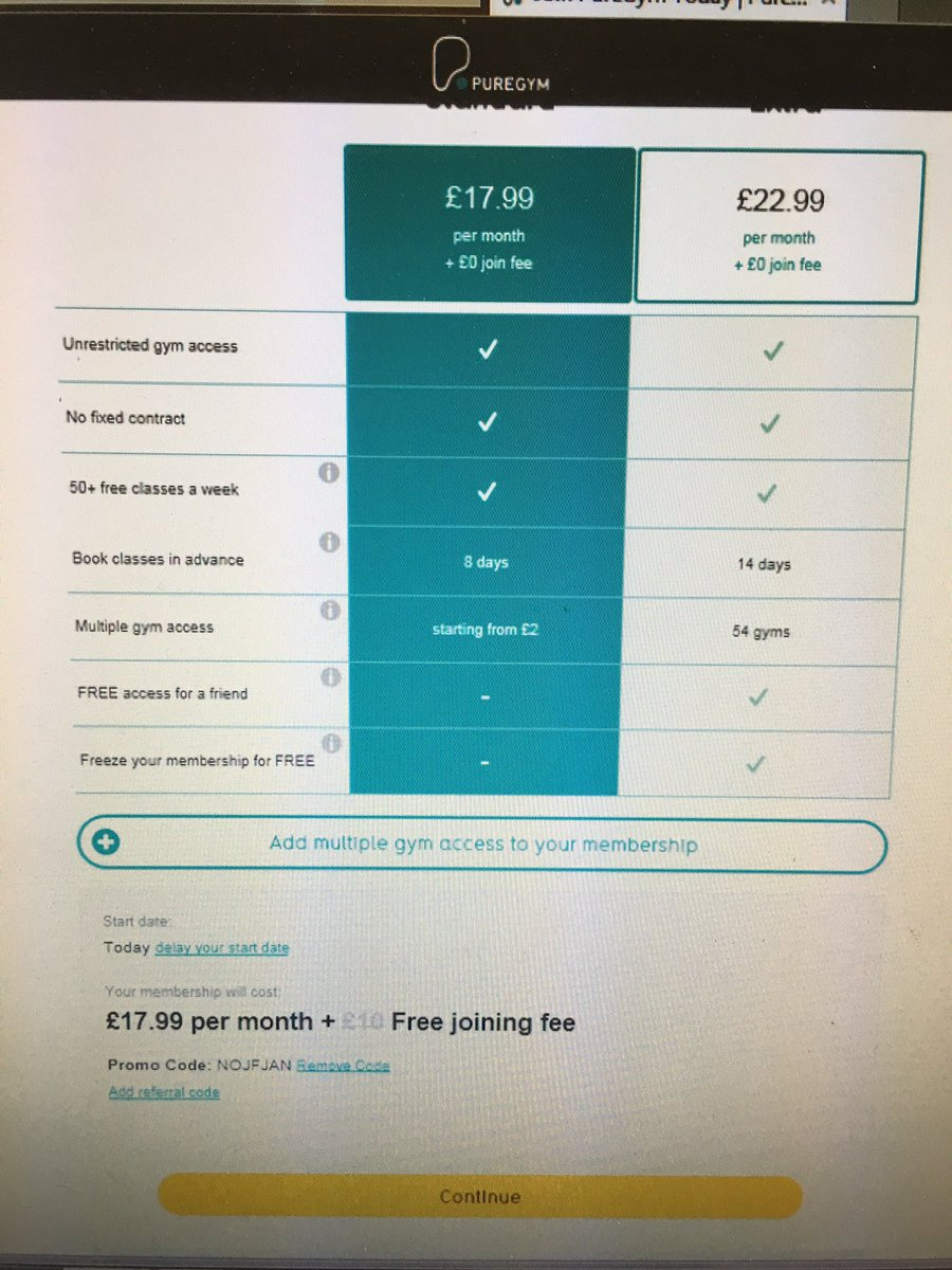 how to cancel pure gym membership