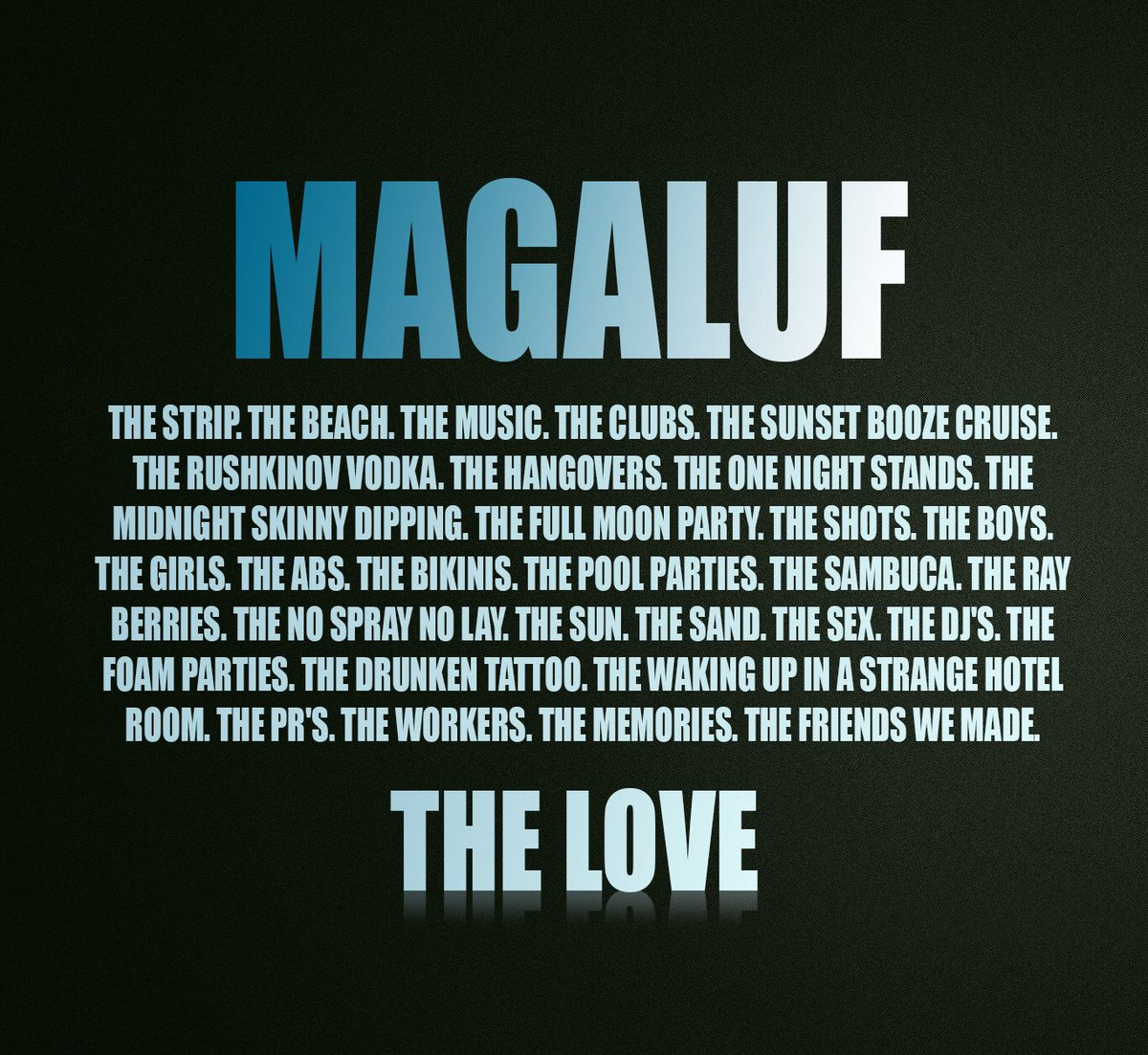 It&#39;s a Magaluf thing!   #Magaluf #Maga #Maga17<br>http://pic.twitter.com/WO4lpYvprd