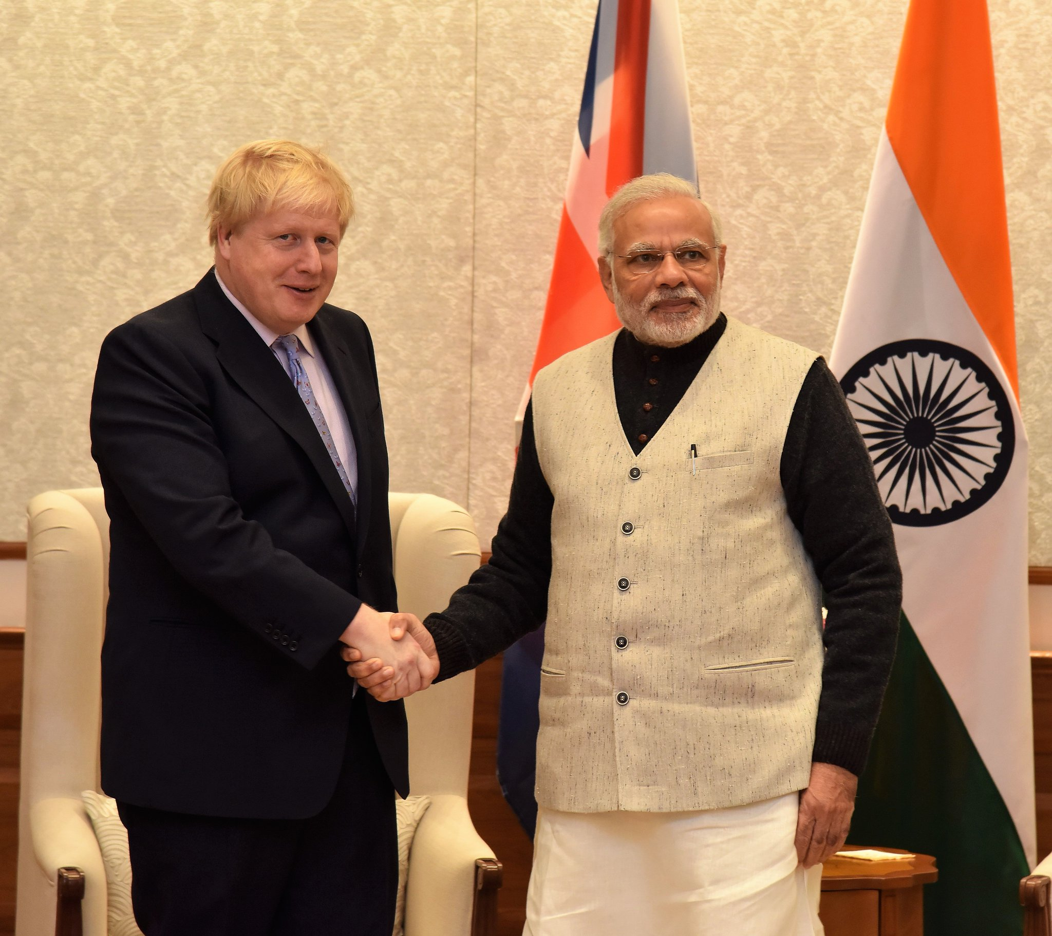 Thumbnail for Boris Johnson visits India, 18-19 January 2017
