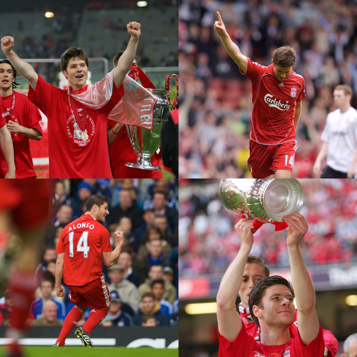 Xabi Alonso is set to retire at the end of the season.   What a player...