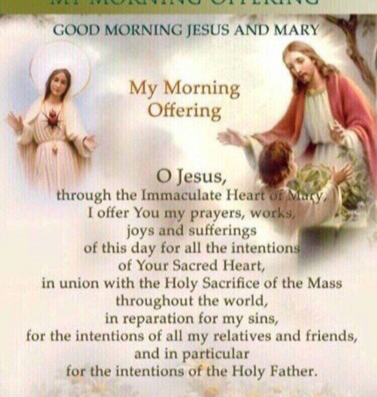 Eucharistic Jesus On Twitter Good Morning Jesus Lord Open My