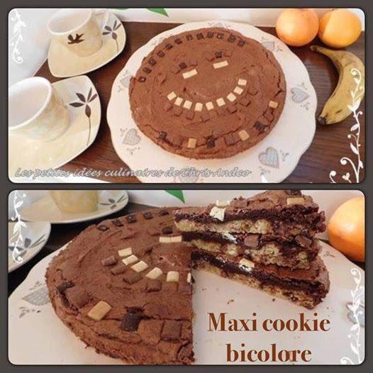 Voici la #recette de notre maxi #cookie  bicolore qui est sur mon #blog  … http://lespetitesidee sculinairesdechrisandco.over-blog.com/2017/01/maxi-c ookie-geant-bicolore.html &nbsp; …  #gourmandise #homemade #gouter #chocolat<br>http://pic.twitter.com/0K0r1JevVm