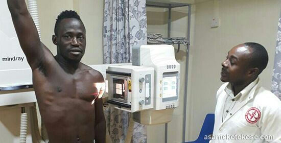 Photos: Yakubu Mohammed, Awudu Nafiu and Abass Mohammed complete medicals ahead Kotoko of transfer