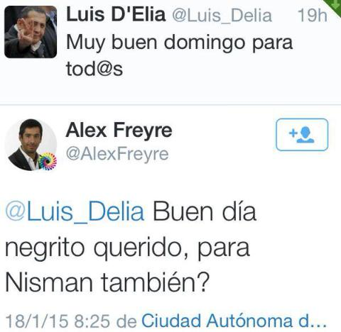 #Nisman El 18/1/15 @Luis_Delia y @AlexFreyre a la mañana, ¿ya sabían l...