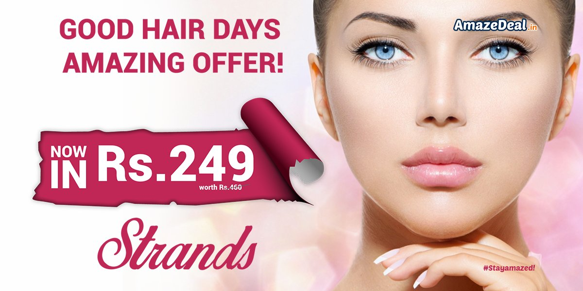 Get a Haircut done with Hairwash &amp; blowdry at Strands in Rs. 249 Steal -  http:// bit.ly/AD-Strands-Sal on &nbsp; …  #AmazeDeal #Strands #Salon #Haircut <br>http://pic.twitter.com/GyNTNvQcg7