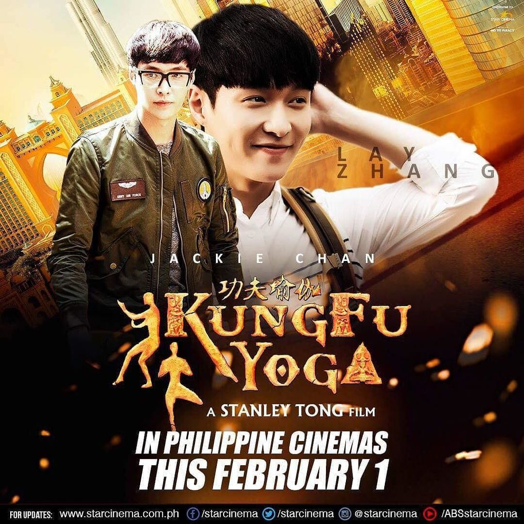 K-pop fans! Watch out for EXO's very own Lay in action in #KungFuYoga this February 1 in Philippines cinemas! https://t.co/JRjY1PxVaL