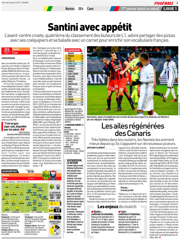 [17e journée de L1] FC Nantes 1-0 SM Caen  C2cKpHMXgAAuNA6