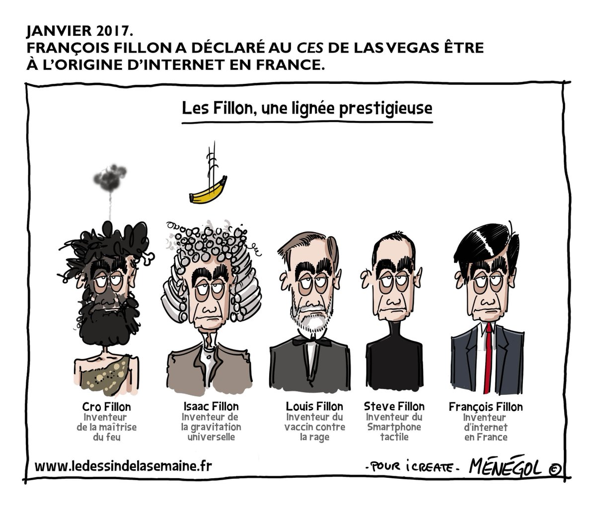 François Fillon à l&#39;origine d&#39;internet en France. #Fillon2017 @icreatefrance<br>http://pic.twitter.com/PKYrWkbwMZ