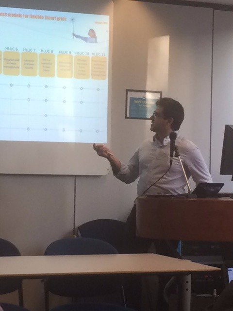 @NobelGrid project presenting their first results on #businessmodels at #Bridge #H2020 #businessmodels WG https://t.co/kjU1QsJBcd