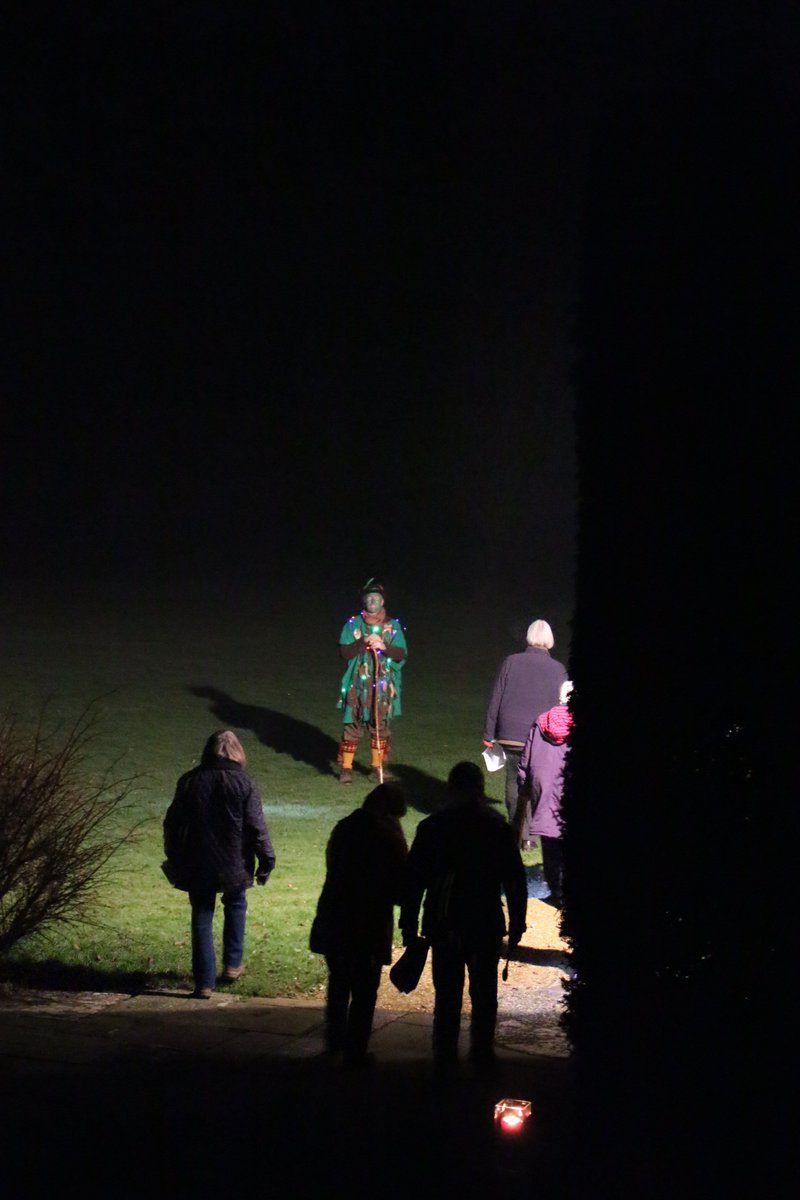 Thanks to everyone who attended the Orchard Wassail last night led by Garden Manager Andrew Bentley. Here's to a good harvest this year!