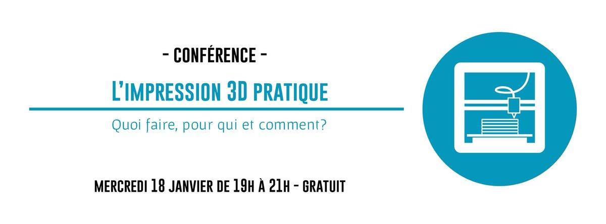 Ce soir 19h-21h - Conférence &quot;L&#39;impression 3D pratique&quot; - @MutinerieSchool  #3Dprinting #maker Plus d&#39;infos  http:// bit.ly/conf-3D  &nbsp;  <br>http://pic.twitter.com/sc8DRiRGHD
