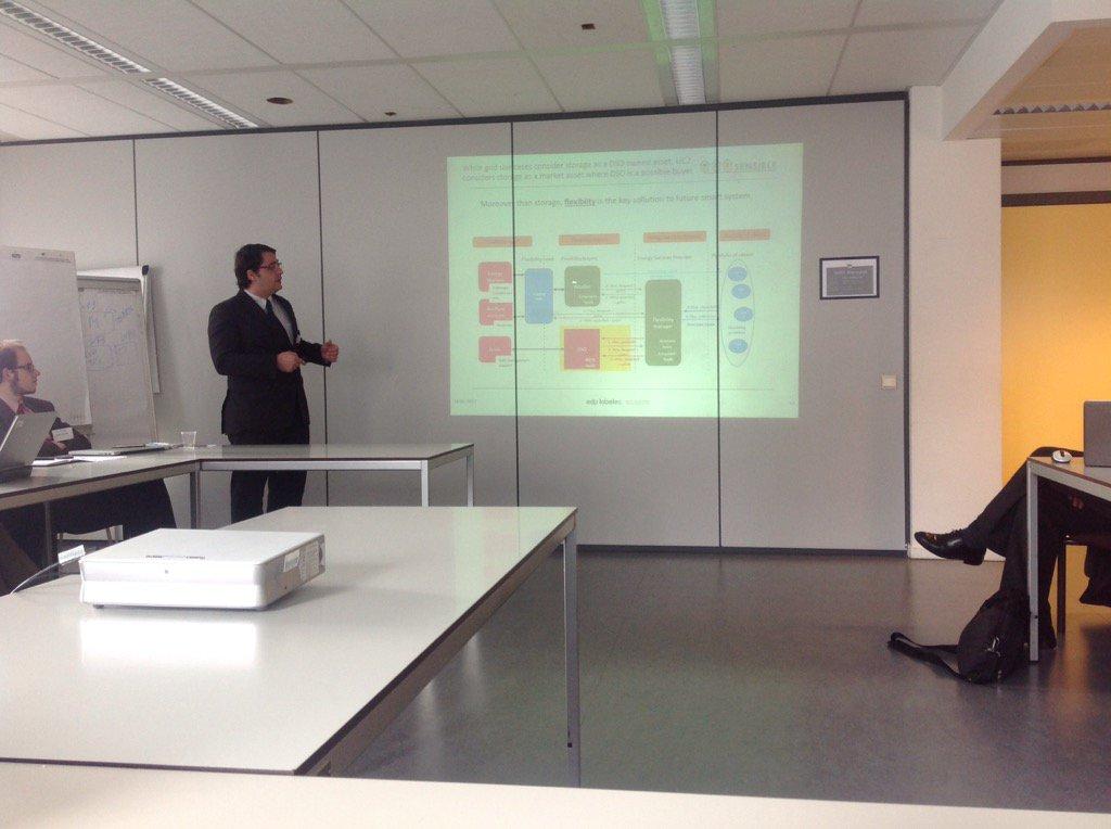 Ricardo presenting @SENSIBLEProject a @EU_H2020 in #Bridge_EU #Regulations WG project in Brussels meeting https://t.co/V4XpI5wQIz