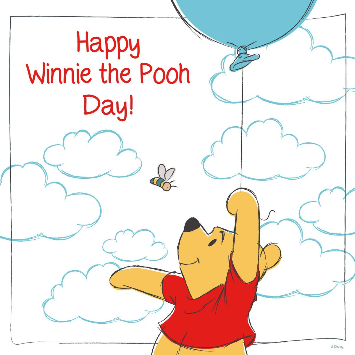 Happy #WinniethePoohDay to our silly ol' bear! https://t.co/9oO3RmxPCW