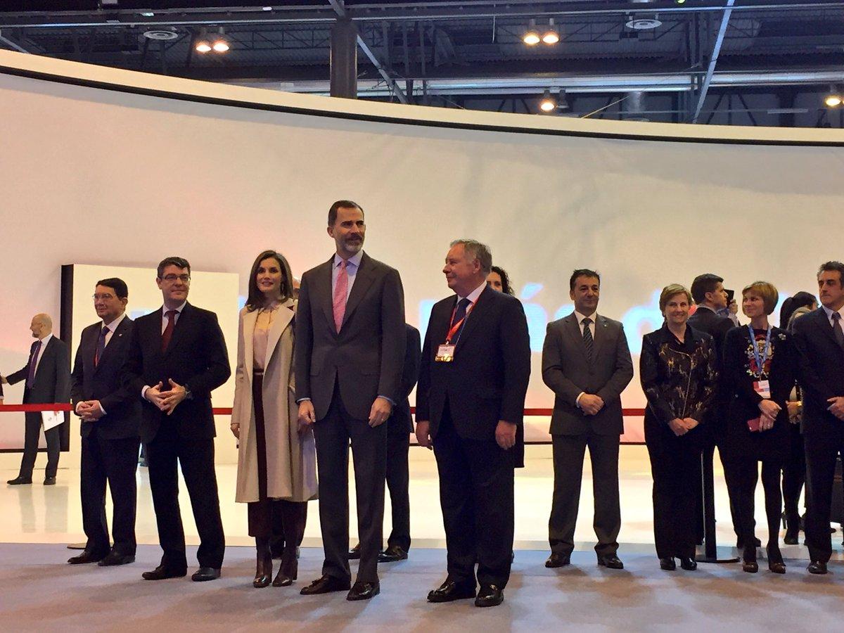 SSMM Los Reyes inauguran #FITUR2017 @CasaReal https://t.co/lC3DjkmEfr