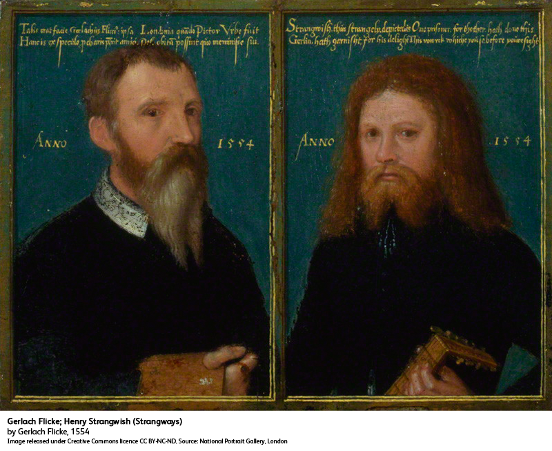 The earliest known oil #MuseumSelfie painted in England (with added pi...