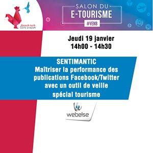 @Webelse pitchera @Salon_Etourisme! Découvrez cette #startup qui va révolutionner l&#39;#UX du secteur #tourisme  http://www. salon-etourisme.com/french-tech-pi tchs-de-start-ups/ &nbsp; …  #VEM8<br>http://pic.twitter.com/fokOiJb4Qo