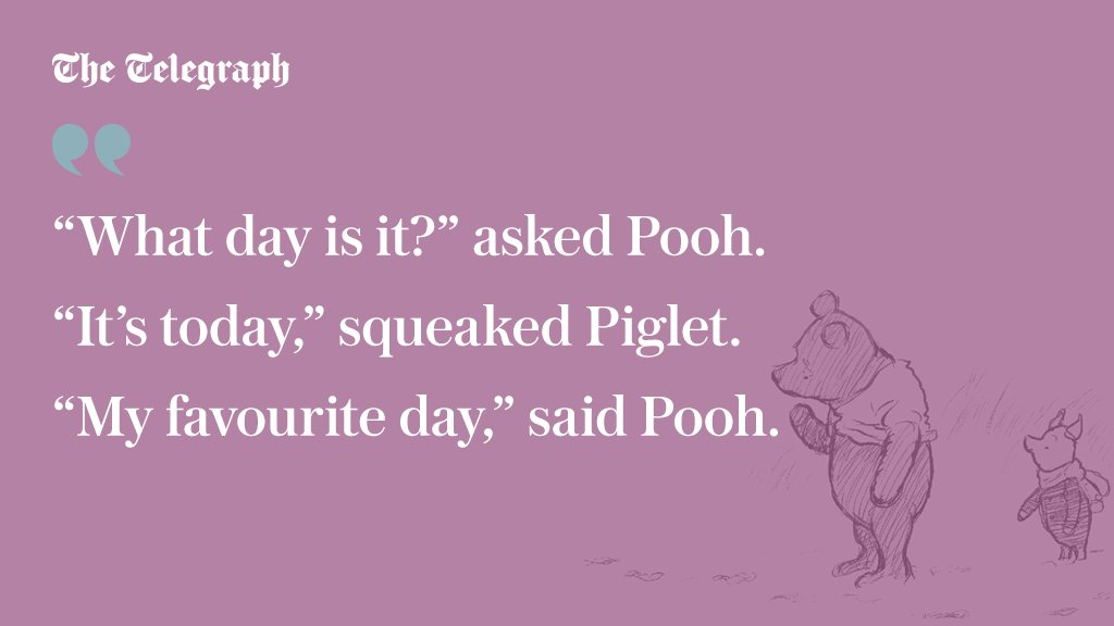 It's #WinnieThePoohDay - here are some of A A Milne's best loved chara...