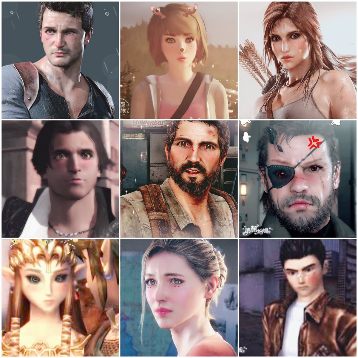 No, YOU spent the morning putting various videogame characters through Meitu filters... (for your viewing pleasure) https://t.co/VUW9Tw4Pcw