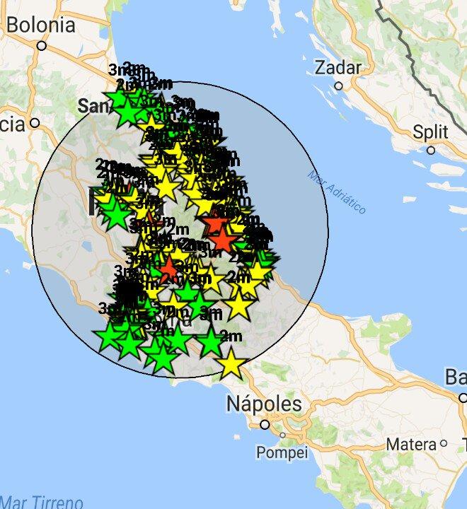 Tnatissimi i terremoti in Centro Italia, oltre 47 mila dal 24 agosto 2016