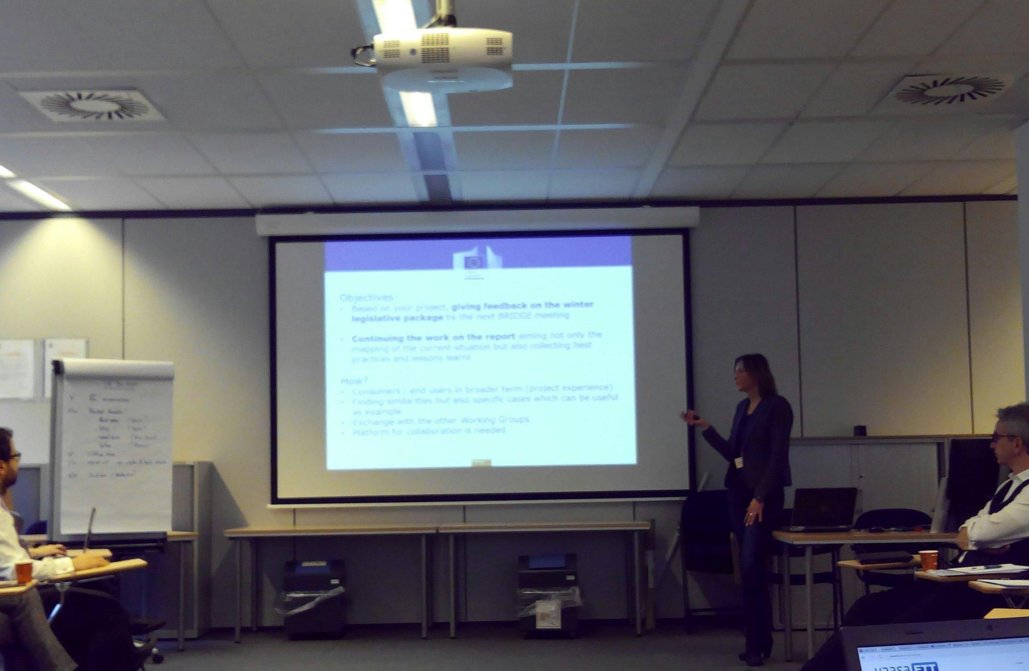Szilvia Bozsoki has explained the @EU_Commission expectations in the Customer Engagement WG #Bridge_EU https://t.co/tk8uzK00w1