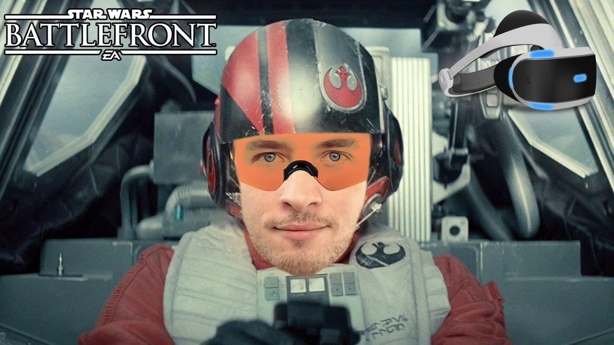 Je pilote un X-Wing ! Enfin en VR     http:// youtu.be/f7_wIzwvl-Y  &nbsp;    #StarWars #StarWarsBattlefront<br>http://pic.twitter.com/YqKeKaJdMY