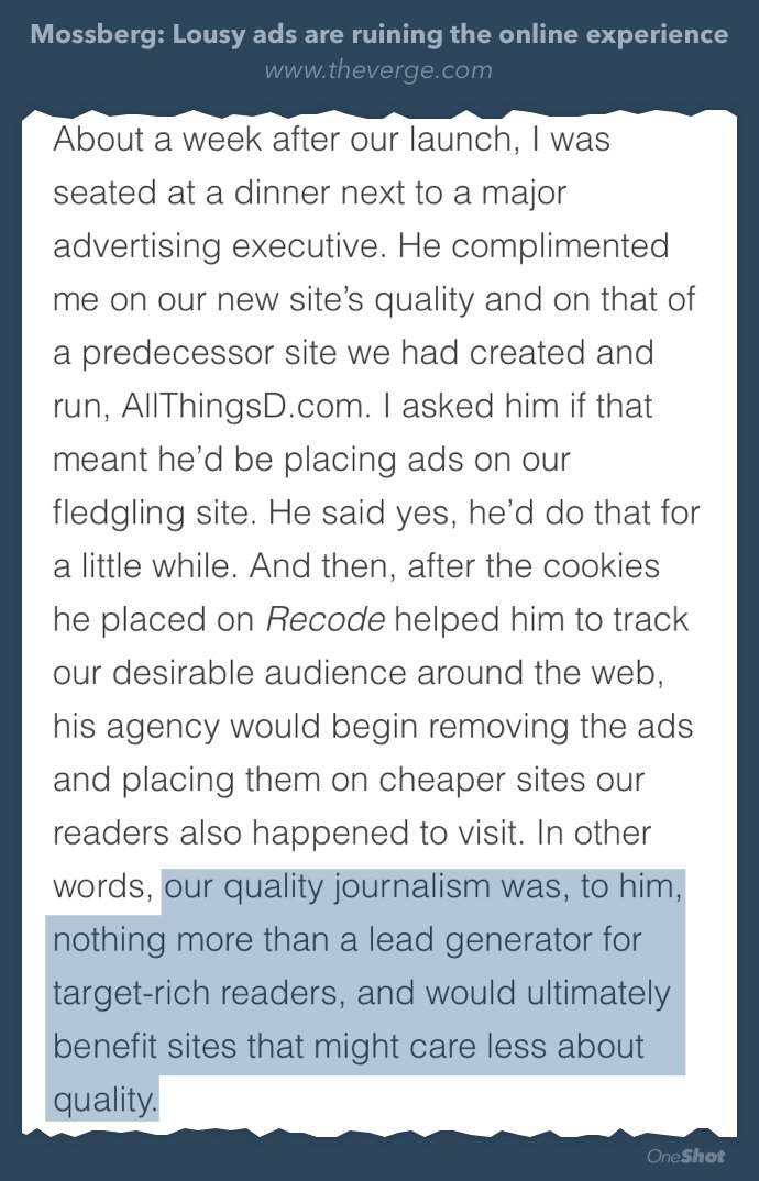 Ad exec told @waltmossberg how he'd use cookies to target Recode readers elsewhere for cheap https://t.co/sTBuOlsZ9M https://t.co/oiKK0VwNxp