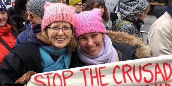 d32e3935eaff8 Tens of thousands of women will wear pink  pussy hats  the day after Trump s