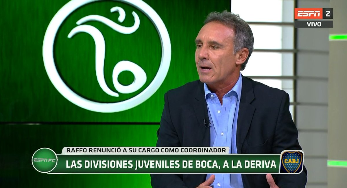 Marcelo Espina Raffo : ESPNFC ESPN Marcelo Espina refiere renuncia ...
