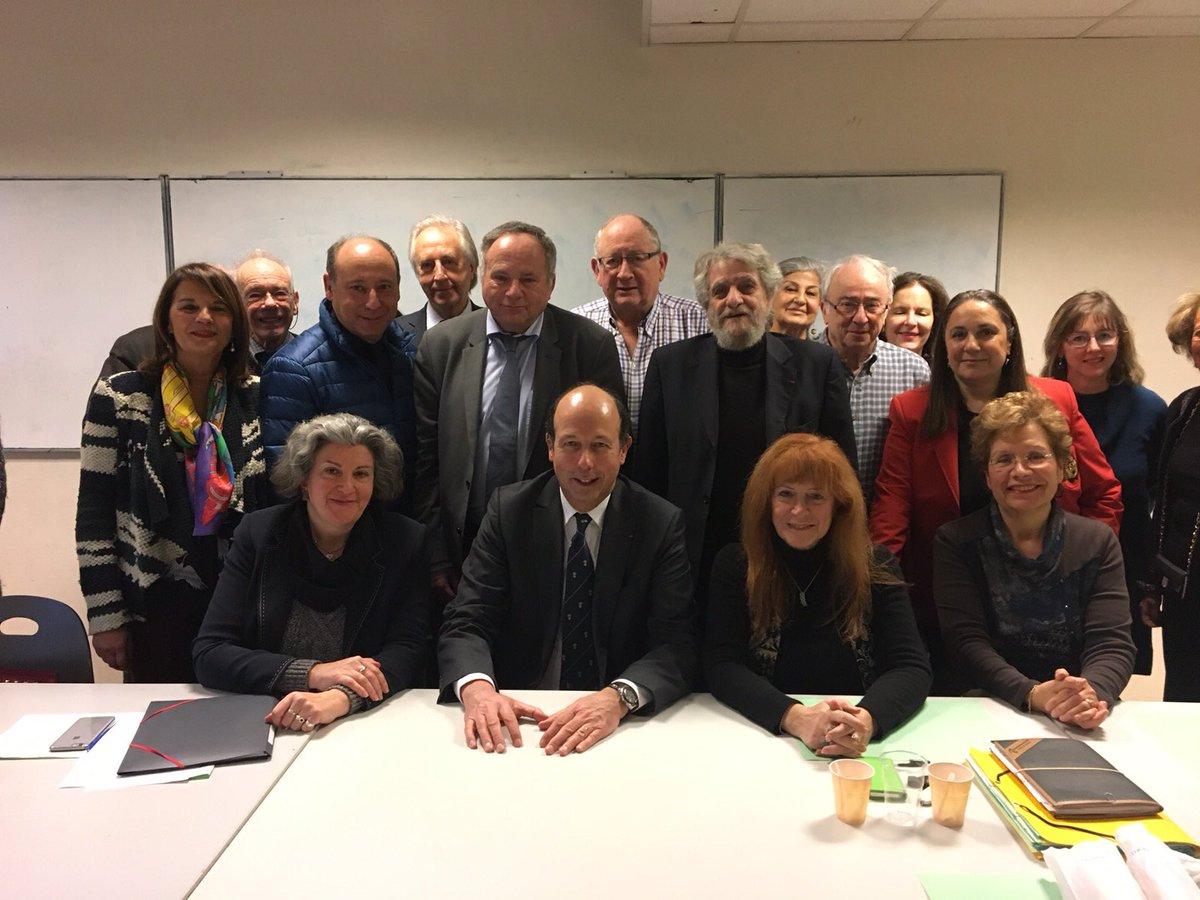 Invité comme VP #UDi par commission &quot;Relations avec les élus&quot; du #Crif présidé #BGahnassia: échanges sur #Sécurité #Défense #France #Israël <br>http://pic.twitter.com/9TBRBmcrmC