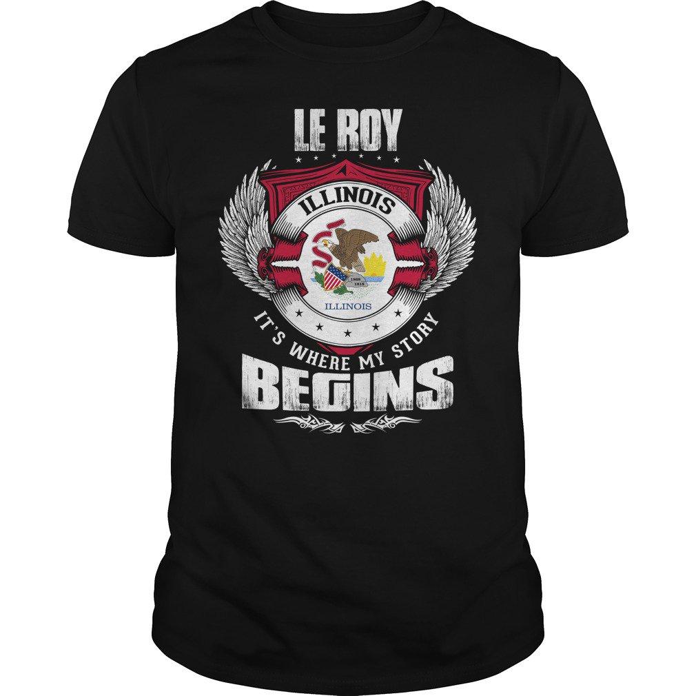 LE ROY ILLINOIS  https:// goo.gl/EowcGS  &nbsp;   #ILLINOIS #ROY #TSHIRT #CLOTHING #SWEATSHIRT #HOODIE <br>http://pic.twitter.com/A9JKFzWeum