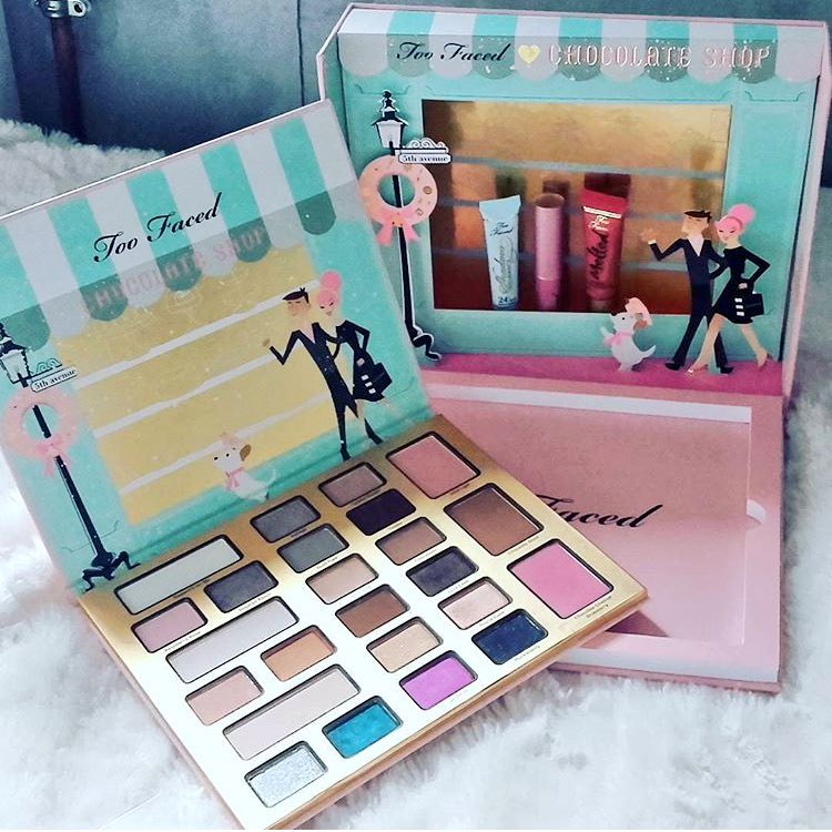 La vie. #thechocolatier #toofaced <br>http://pic.twitter.com/U8xOgbEXos