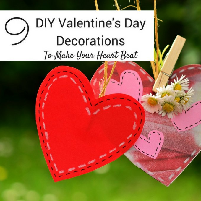 Make the house sparkle with easy #DIY #ValentinesDay decorations! Check them out! https://t.co/w6FXZOhrlS https://t.co/kSxNrLDixS