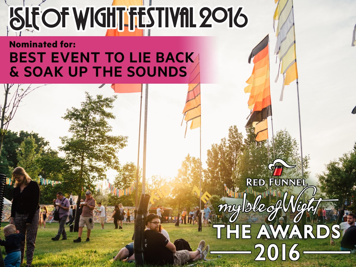 We&#39;re up for @RedFunnel &#39;s &#39;Best Event to Lie Back &amp; Soak Up the Sounds&#39; award :D @myisleofwight @TapnellFarm @TheCowCoUk #IOW2017 #Moo <br>http://pic.twitter.com/bjm3uSS7eV