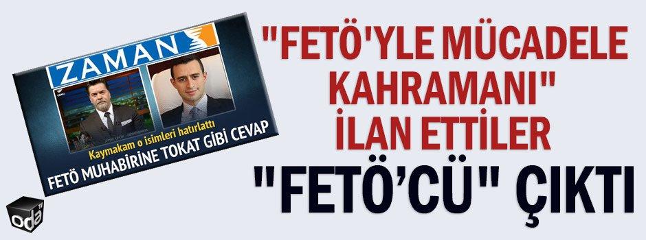 """""""FETÖ'yle mücadele kahramanı"""" ilan ettiler """"FETÖ'cü"""" çıktı https://t.co/4f5USYLRpJ https://t.co/rqMotlwcyi"""